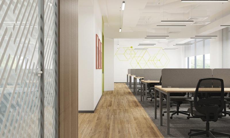 офис в стиле минимализм