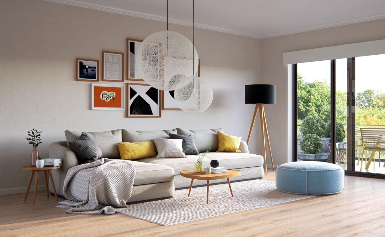 скандинавский стиль интерьера дома